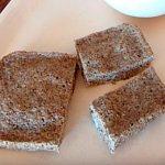 pan de linaza en microondas