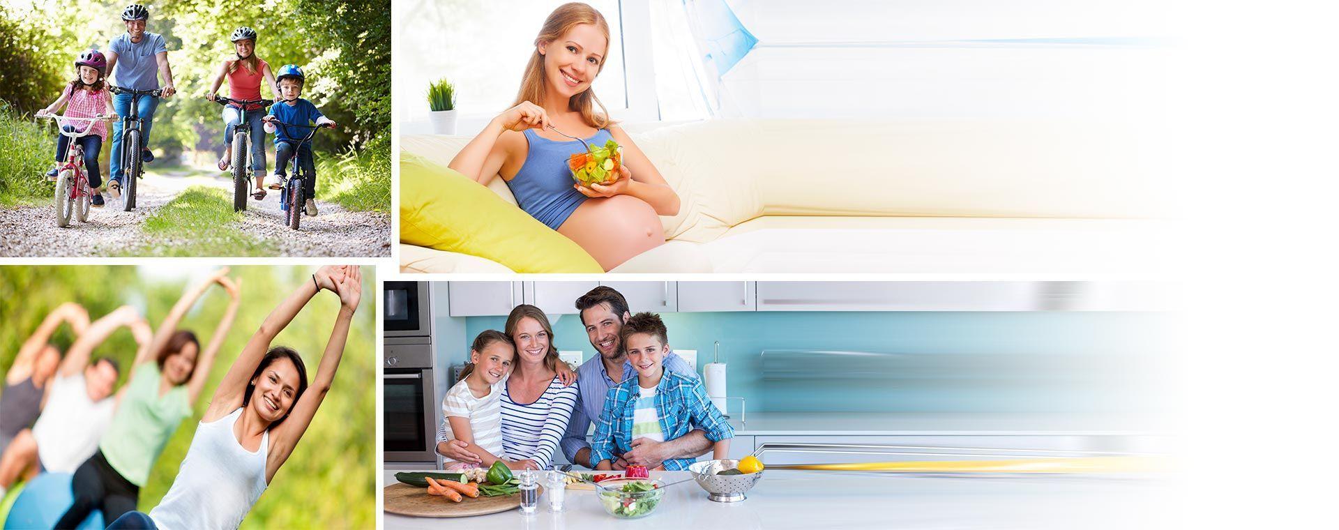 Habito de vida saludable para la familia