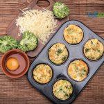 Muffins de Brócoli y Queso