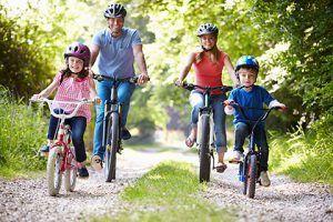 recomendaciones para evitar subir de peso durante fin de año - ejercicio en familia