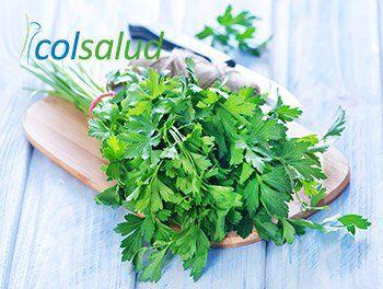 Perejil Fresco para Batido Verde Detox y Digestivo