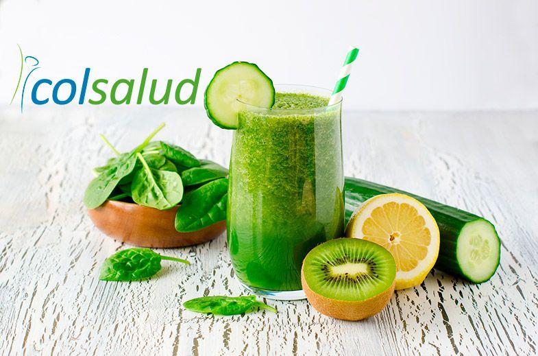 Batido Verde Detox y Digestivo