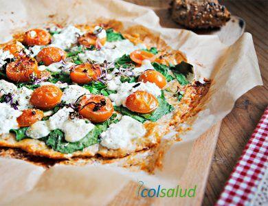 Pizza sin Harina con Masa de Pollo