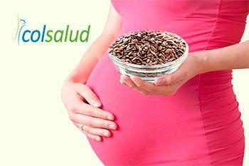 Semillas de Linaza Propiedades y Beneficios para tu Salud - Embarazo