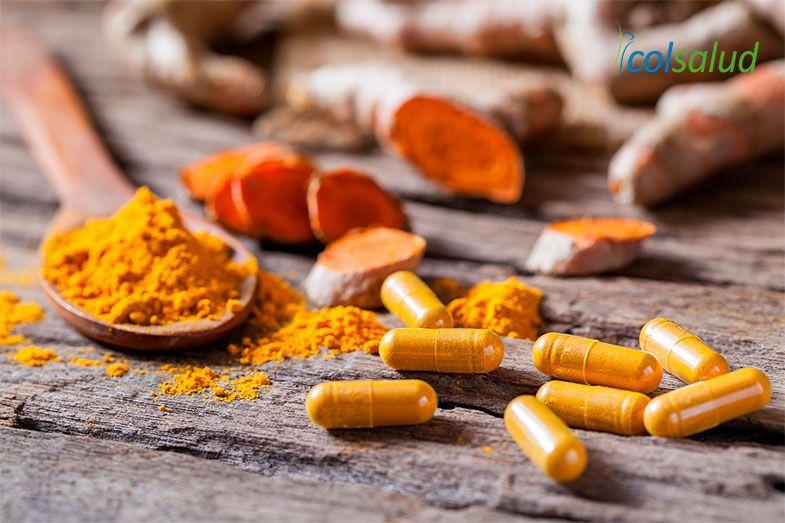 suplementos de cúrcuma potente efecto regulación inflamación