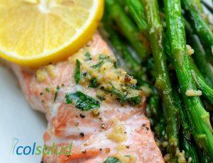 salmon a la mantequilla