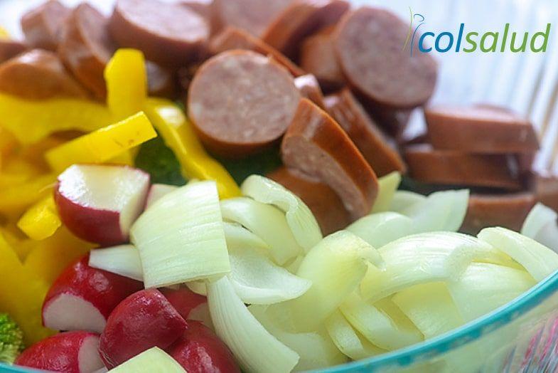 vegetales y salchicha2